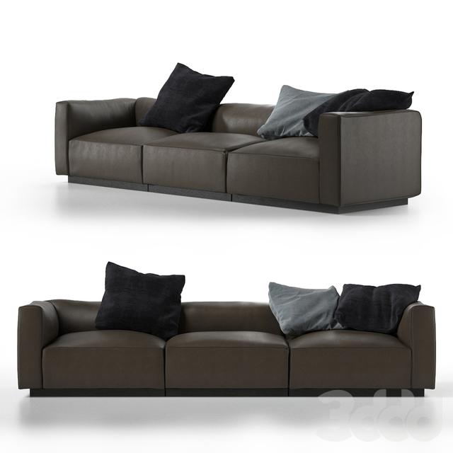 3d walter knoll living landscape 740. Black Bedroom Furniture Sets. Home Design Ideas