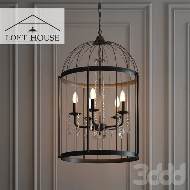 Светильник подвесной LOFT HOUSE P-193