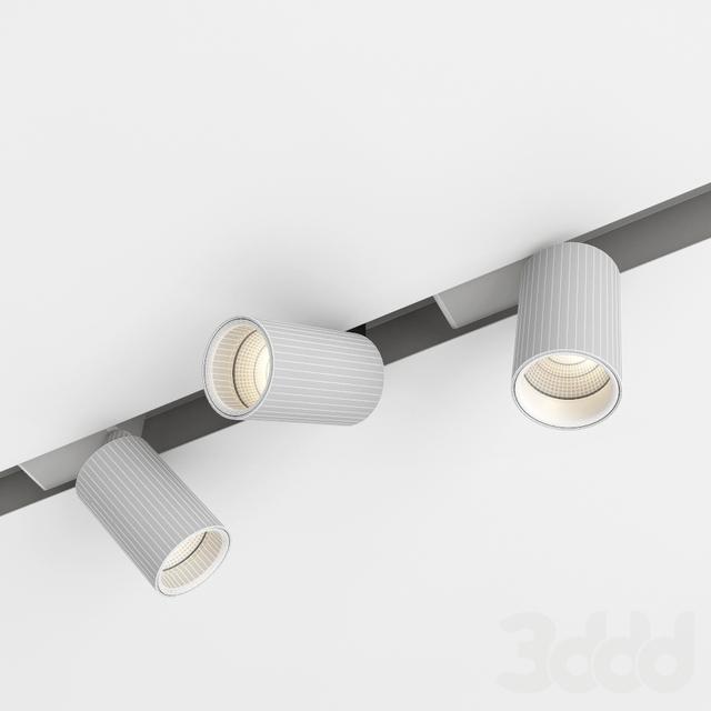 3d модели Встроенные светильники Delta Light Splitline