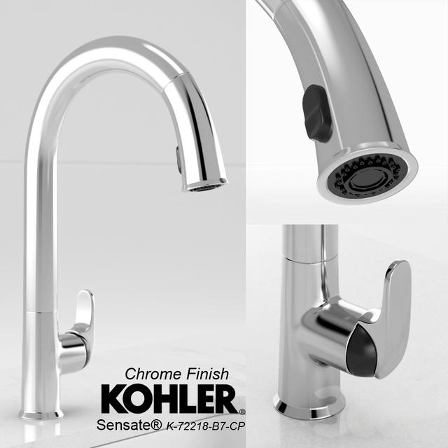 3d Kohler Sensate Touch Faucet