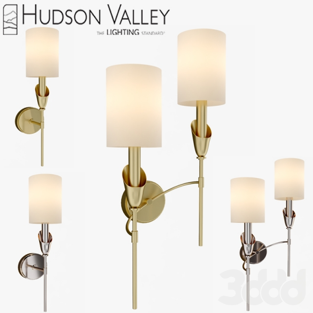 3d Tate 1311 And 1312 Hudson Valley Lighting