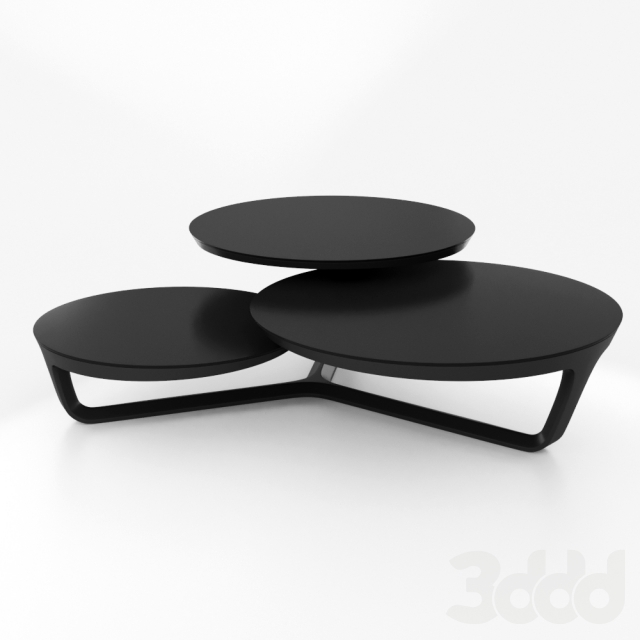 3d roche bobois ora ito cocktail table. Black Bedroom Furniture Sets. Home Design Ideas
