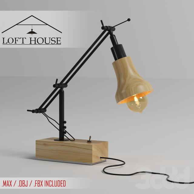 Настольная лампа LOFT HOUSE T-102
