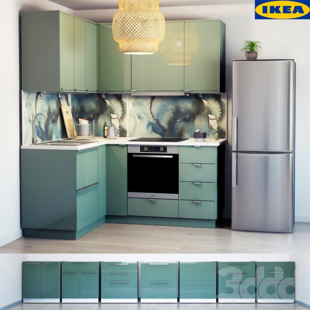 3d kallarp for Ikea cucina 3d