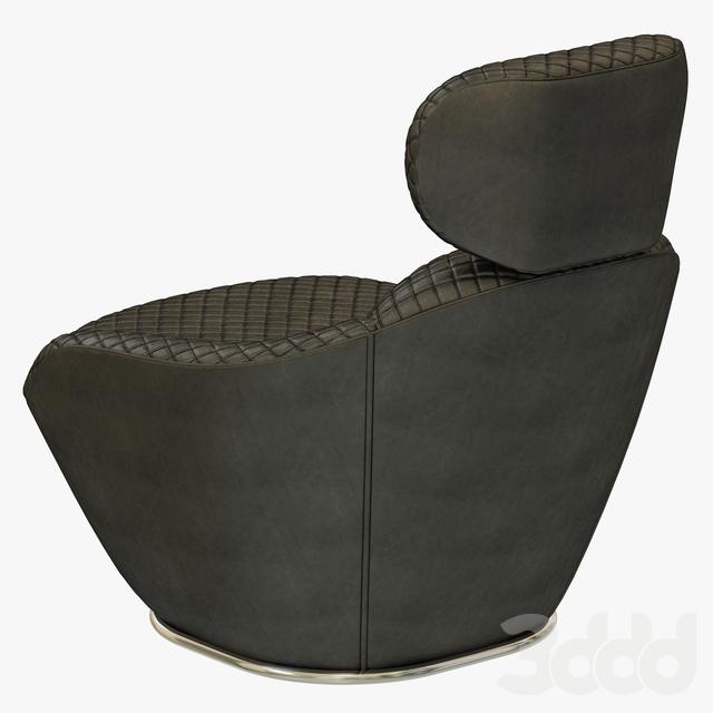 3d модели Кресла Roche Bobois Bergamote Armchair