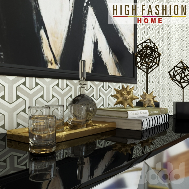 3d High Fashion Home Refined Dining
