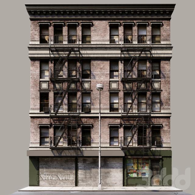 Brooklyn fasad NY