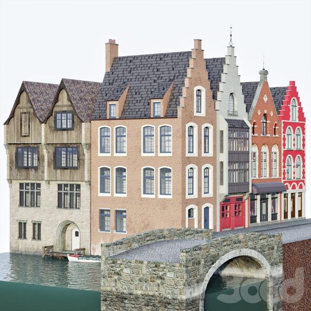 на конкурс Brugge facades