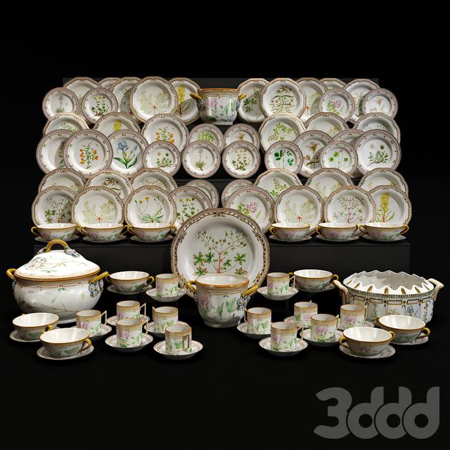 Porcelain table service