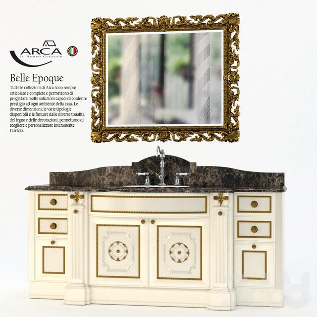 3d модели: Мебель - Arca Bagni Belle Epoque