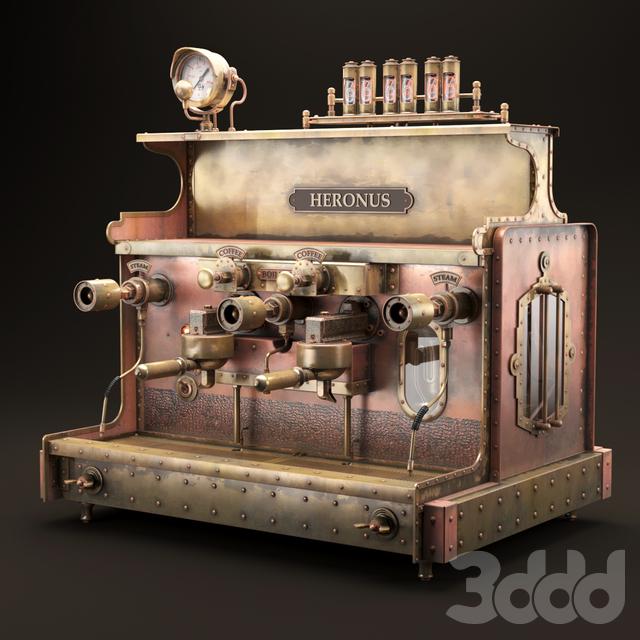steampunk coffee machine
