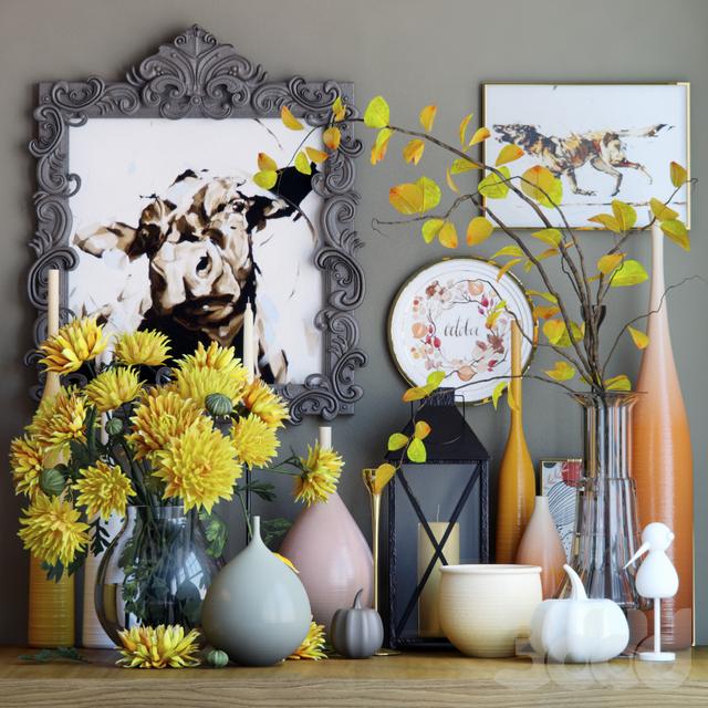 Осенний декоративный набор 4