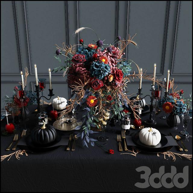 "Сервировка стола ""Halloween"""