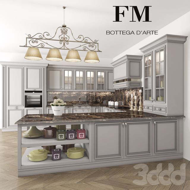3d модели: Кухни - кухня FM Bottega London