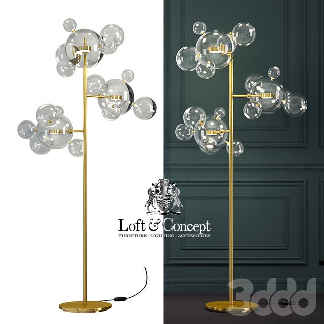 ТОРШЕР GIOPATO & COOMBES BOLLE BLS 14 FLOOR LAMP