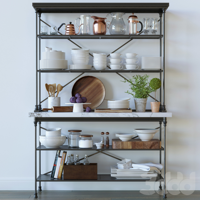 Kitchen decor set - Crate and barrel