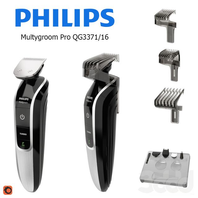 Набор для стрижки PHILIPS Multygroom Pro QG3371/16