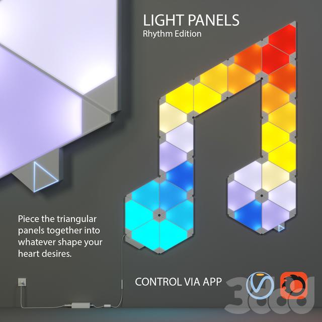 Nanoleaf - Light Panels - Rhythm edition