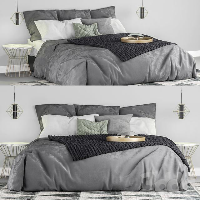 Ikea Nordli bed double