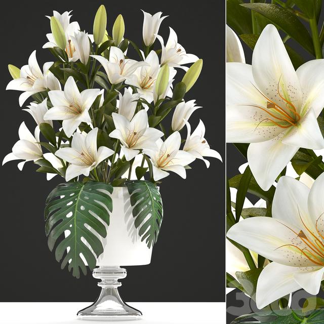 Коллекция цветов 51. Букет Лилий.