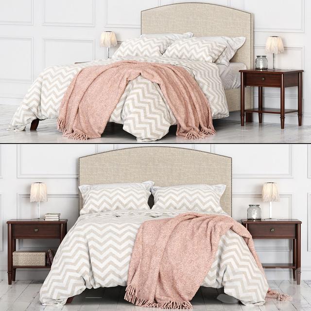 Кровать Potterybarn Fillmore