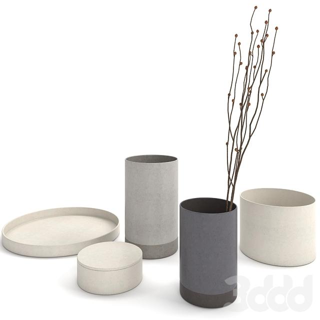 Menu Cylindrical Vase