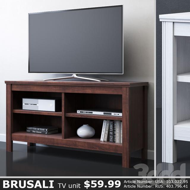 IKEA BRUSALI Тумба под ТВ