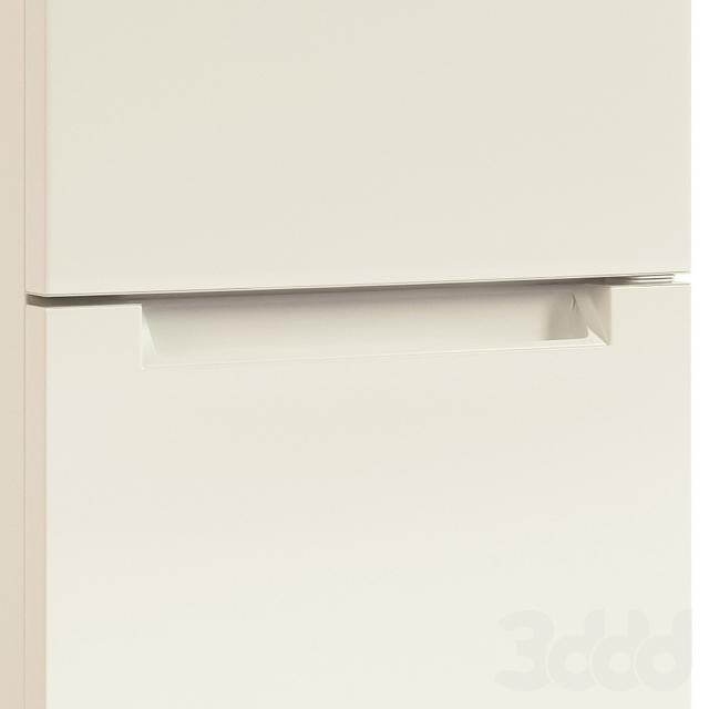 3d модели техника холодильник Indesit Itf 120 W