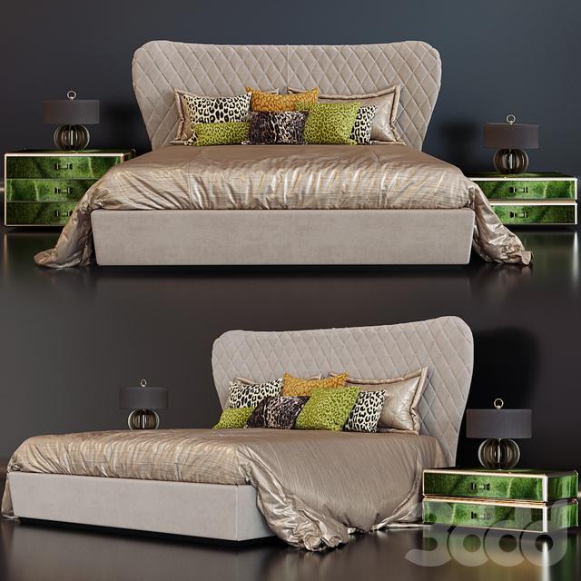 Roberto Cavalli Grace bed