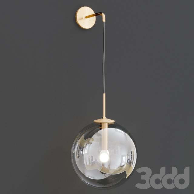 Languedoc Sconce Flos Globe E27 Light Wall Lamp