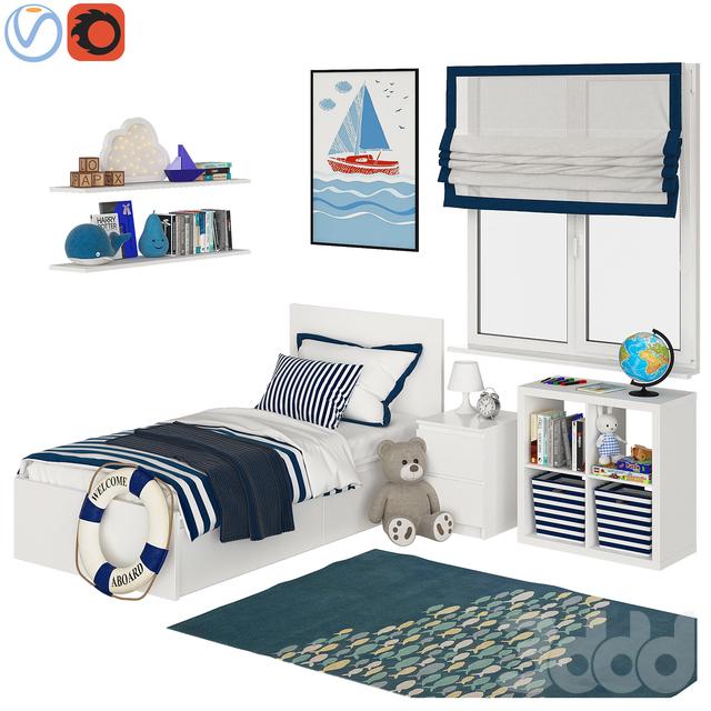Universal children room Blue