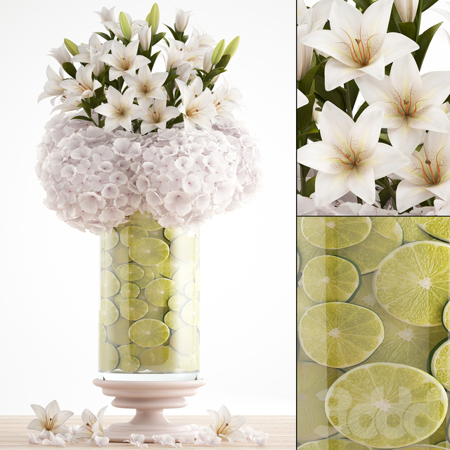 Букет цветов 65.