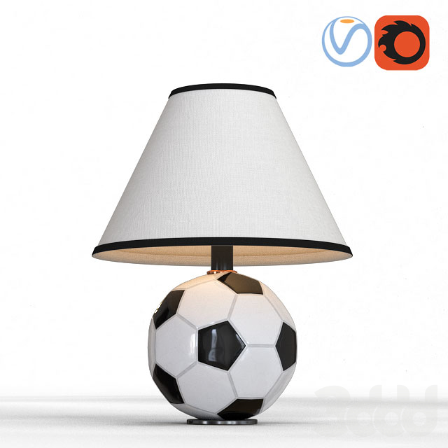 Futbol 12'' Table Lamp