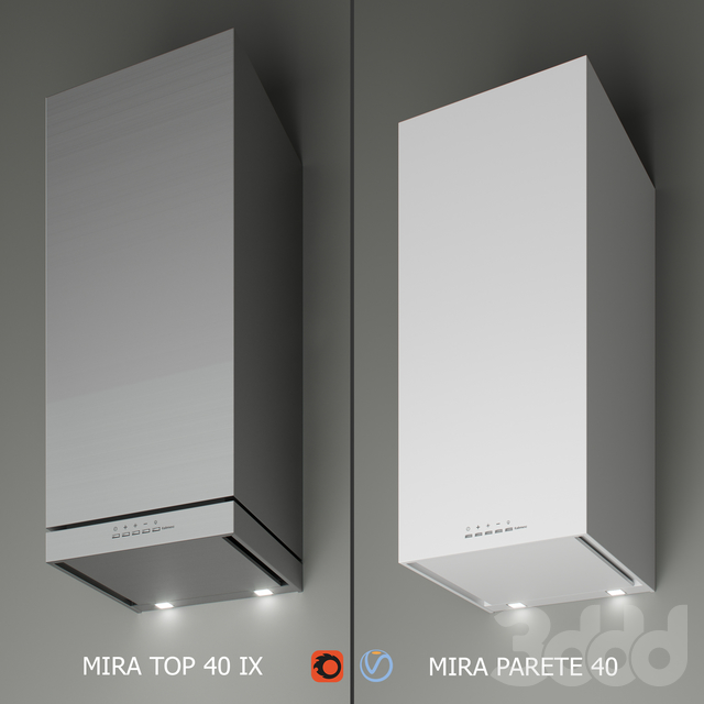 Falmec - Mira Top 800 40 IX / Mira Parete 40 white