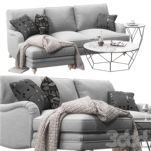 Sofa Miss Daisy set