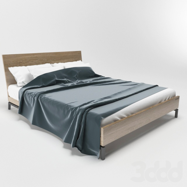 Кровать деревянная Woodwek Bergen