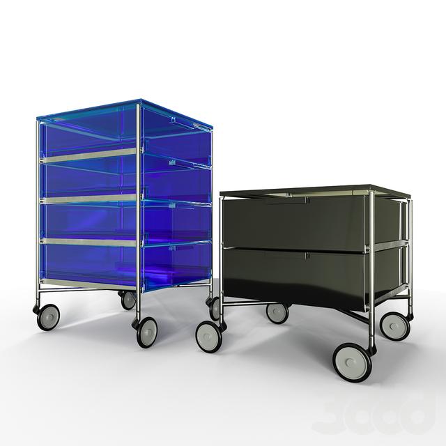 Storage Furniture Kartell Mobil set 1