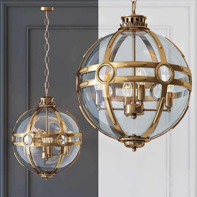 Люстра Eichholtz Lantern Hagerty Brass