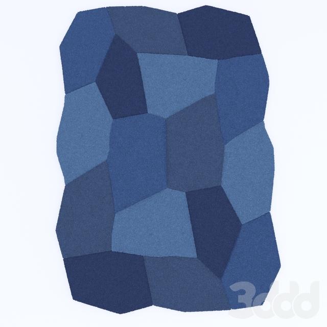 Modern Geometric Carpet