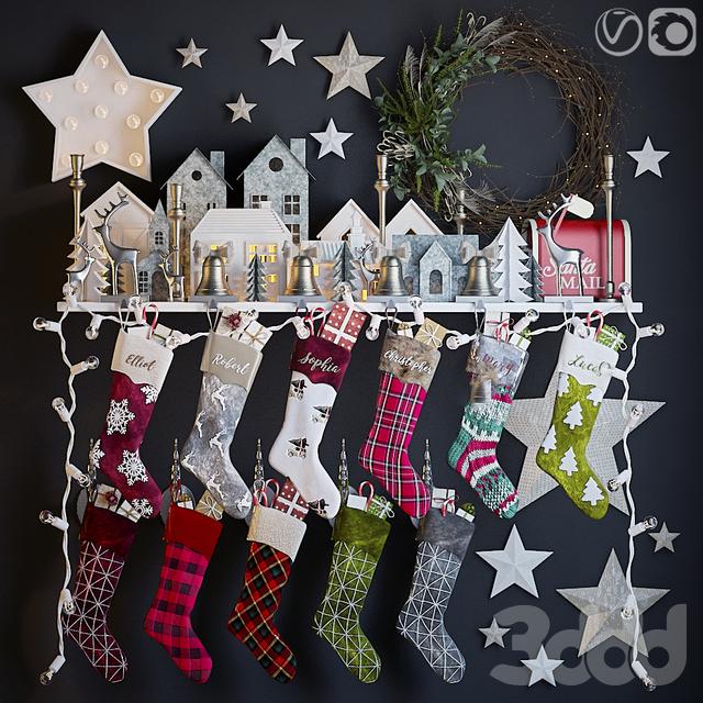 Рождественский декор 3