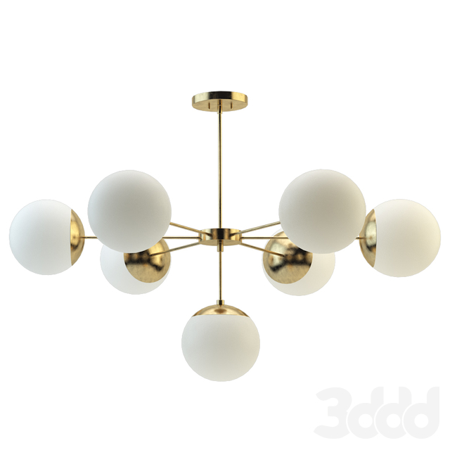 Suspension light copper light chandelier 7