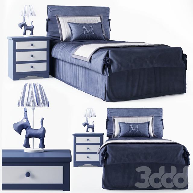 Кровать детская Mobili di Castello Night