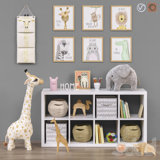 Toys and furniture SET 47