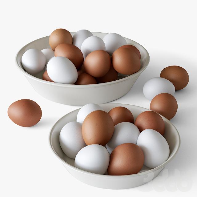 Миска с яйцами
