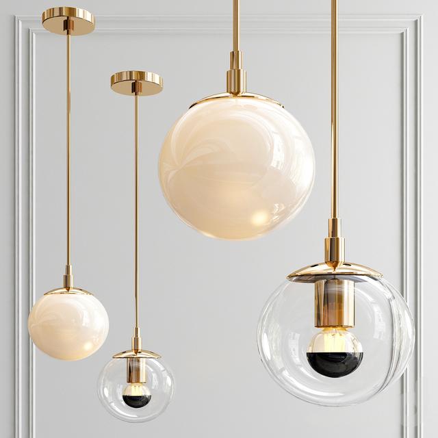 Modo mono Brass color & clear glass