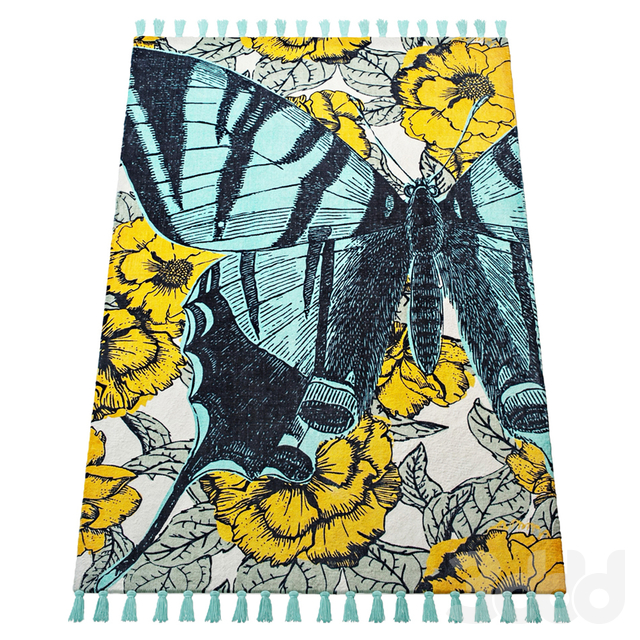Thomas Paul Printed Blooming Butterfly 200TATP07A-P
