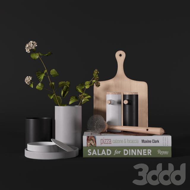 Kitchen decor set 001