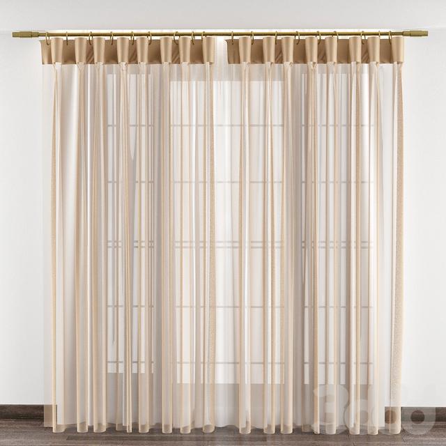 Curtains № 124