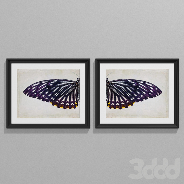 Vintage style purple