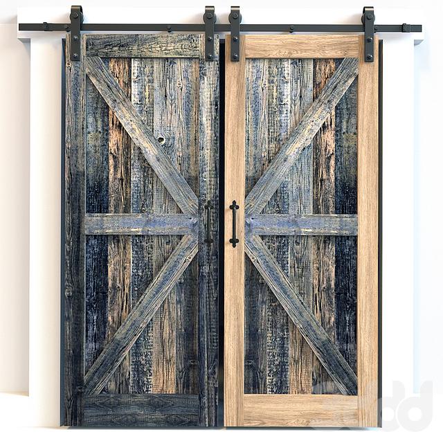 Амбарные (раздвижные) двери 1
